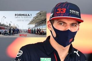 """Verstappen lascia la serie sulla Formula 1 di Netflix: """"Inventano cose che non esistono"""""""