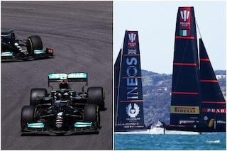 """Mercedes contro Luna Rossa nell'America's Cup di vela: """"È la Formula 1 sull'acqua"""""""