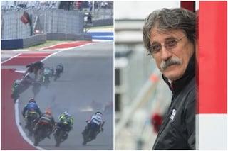 """Lo strano commento di Simoncelli dopo l'incidente in Moto3 ad Austin: """"Che bella giornata!"""""""