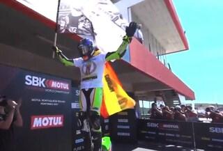 Huertas vince il Mondiale SuperSport e dedica il titolo a Dean Berta Vinales