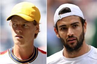 """Sinner in doppio con Berrettini a Indian Wells: """"Prove per la Davis? Ci sono altri più bravi di me"""""""