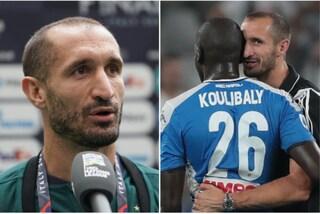 """Chiellini turbato dai cori razzisti a Koulibaly: """"Mi sono vergognato, come italiano e toscano"""""""