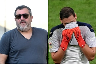 """Donnarumma fischiato, Raiola durissimo col Milan: """"Sanno e non parlano, sono disgustato"""""""