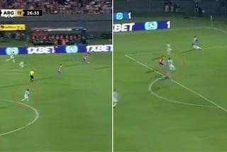 """""""Ma non era pigro?"""": l'inconsueta giocata di Messi che fa impazzire l'Argentina"""