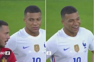 Hazard spiazza Mbappé in campo: il labiale del belga diventa un giallo