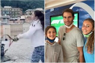 Emozionarono il mondo giocando sui tetti durante il lockdown: Federer ha realizzato il loro sogno