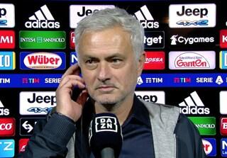 """La richiesta di Mourinho alla Juve: """"Dicano a tutti quello che ci hanno detto negli spogliatoi"""""""