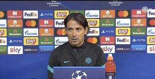 """Inzaghi attende lo Sheriff ma non dimentica la sconfitta contro la Lazio: """"Siamo arrabbiati"""""""