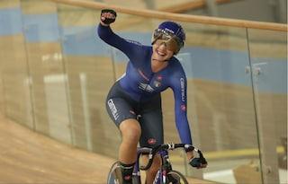 Bravissima Martina! Fidanza primo oro per l'Italia ai Mondiali di ciclismo su pista