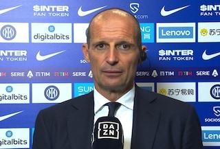 """Allegri applaude la Juve e indica l'obiettivo: """"Dobbiamo rosicchiare punti prima della sosta"""""""