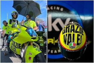 """La livrea speciale dello Sky Racing Team per l'ultima gara in Italia di Rossi: """"Grazie Vale"""""""