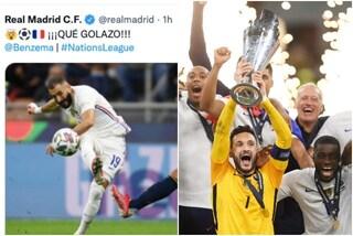 """Il Real Madrid festeggia dopo il gol della Francia alla Spagna: """"È disgustoso"""""""