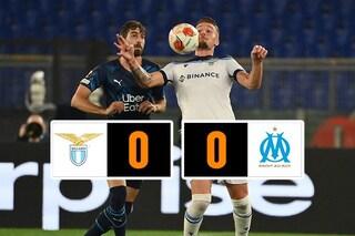 La Lazio sbatte sul Marsiglia, Sarri pareggia all'Olimpico e rallenta in Europa League