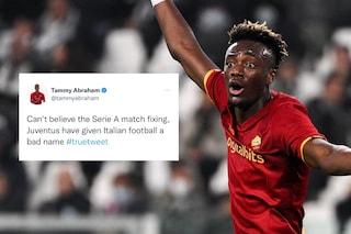 """""""Partite truccate in Serie A, non posso crederci"""": un tweet di Abraham dal passato, c'entra la Juve"""