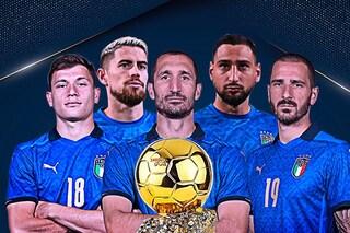 Pallone d'Oro 2021, svelati i nomi dei candidati: 5 calciatori italiani tra i 30 finalisti