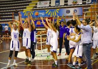 Meravigliosa vittoria dell'Italia femminile agli Europei di Basket sordi: battuta 63-61 la Russia
