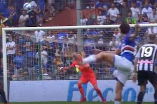 """""""Ma che gol ha fatto Candreva!"""", la TV inglese esalta la prodezza del calciatore italiano"""