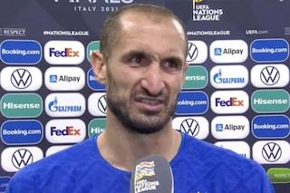 """Chiellini spegne le polemiche sull'arbitro: """"Basta ragazzi, pensiamo a cosa potevamo fare noi"""""""