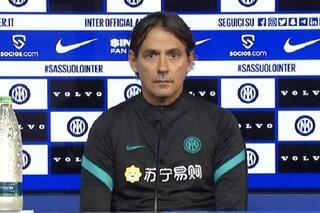 """Inzaghi non si nasconde: """"Siamo stanchi e mancano punti, con il Sassuolo servirà la migliore Inter"""""""