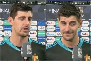 """Courtois snobba Italia-Belgio: """"È una partita inutile, non capisco perché dobbiamo giocarla"""""""