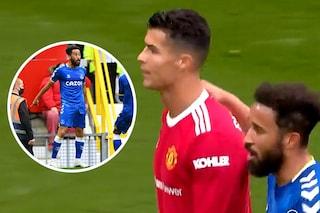 Townsend imita la sua esultanza, Ronaldo reagisce male davanti a tutti: ma non è come sembra