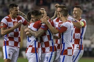 Qualificazioni Mondiali in TV dell'11 ottobre: Croazia-Slovacchia in chiaro, dove vederla