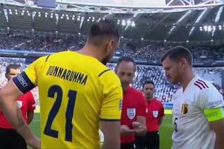 Donnarumma capitano della Nazionale: cori e applausi a Torino, lui ricambia