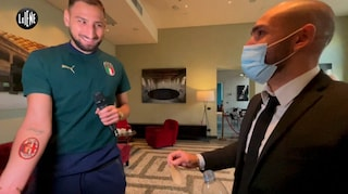 """Il tatuaggio del Milan sulla pelle di Donnarumma: """"Sarò sempre un cuore rossonero"""""""