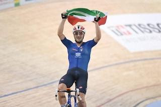 Elia Viviani è una forza della natura, oro ai Mondiali di ciclismo