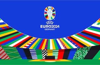 """L'UEFA e la Germania svelano il logo di EURO 2024: """"Uniti dal calcio. Uniti nel cuore dell'Europa"""""""