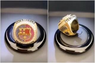 Griezmann non dimentica il Barça: l'anello NBA in omaggio all'unico titolo vinto con Koeman