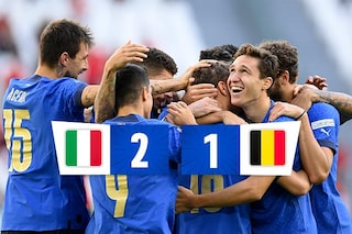 Barella-Berardi, l'Italia si prende il 3° posto in Nations League: battuto il Belgio 2-1