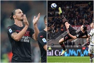 """Ibrahimovic festeggia il ritorno in campo a modo suo: """"Voi camminate, io volo"""""""