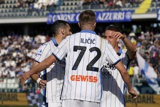 La 'Dea' risorge con Ilicic (doppietta) nel 4-1 di Empoli: Atalanta di nuovo in zona Coppe