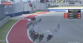 """Spaventoso incidente in Moto3 a Austin, paura per Alcoba, Migno e Acosta: """"Basta! Bisogna agire ora"""""""