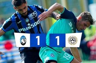 Atalanta fermata in casa dall'Udinese: Beto sul filo di lana risponde a Malinovskyi