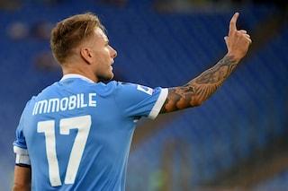 La Lazio sorride, Ciro Immobile guarito dall'infortunio: ci sarà contro l'Inter dell'ex Inzaghi
