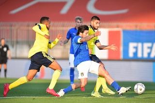 Lucca segna ma non basta: Italia-Svezia Under 21 1-1, azzurri beffati al 92'
