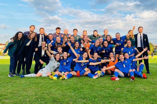 L'Italia femminile Under 19 chiude al primo posto il girone di qualificazione agli Europei