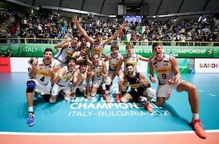 L'Italia U21 vince i Mondiali di volley per la prima volta nella storia: demolita la Russia 3-0