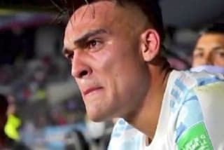 Lautaro Martinez titolare a sorpresa nell'Argentina: poi le lacrime irrefrenabili