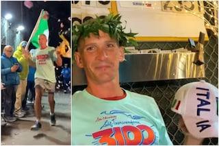 Un italiano vince la corsa più lunga (e folle) al mondo: 5.000km in 42 giorni attorno ad un isolato