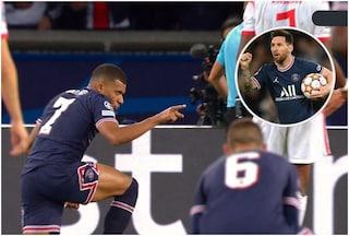 """Mbappé spiega perché ha lasciato il rigore a Messi: """"Li tira lui perché è il migliore"""""""