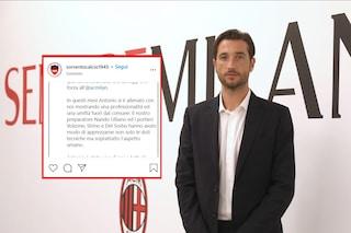 """Mirante, il Milan d'improvviso: """"Ho accettato senza discutere"""" e il Sorrento gli dedica un post"""