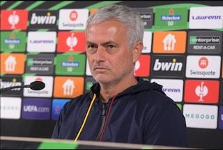 """Il silenzio di Mourinho su Orsato fa rumore: """"È meglio che non dico niente"""""""