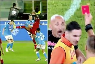 Roma-Napoli a mille all'ora, Massa perde il controllo: in confusione sui cartellini
