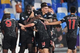 """Il Napoli resta l'unico club a punteggio pieno nei principali 5 campionati europei: """"Complimenti!"""""""