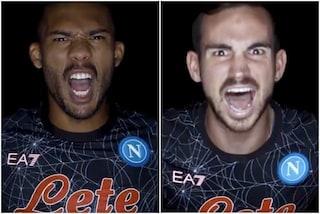 Il Napoli lancia la nuova maglia Halloween: nera e con una ragnatela disegnata sulla divisa