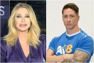 """""""Doppietta di Fernando Torres"""", ma è Ferran: la gaffe di Paola Ferrari diventa virale"""