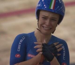 Paternoster è una scheggia, oro in volata nella gara a eliminazione ai Mondiali di ciclismo